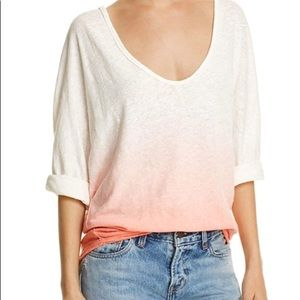 We The Free Boho Dolman Sleeve Ombre Top